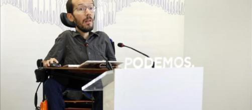 Insultos al dirigente de Podemos
