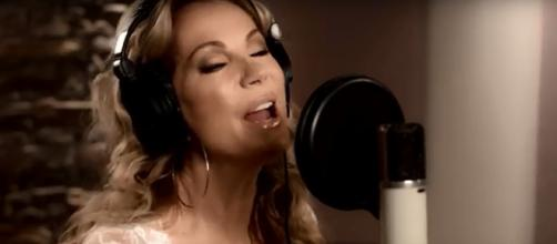 Kathie Lee Gifford debuted the music video for the title song of her film project 'Love Me to Death' on 'Today.' Image cap Bobby Bones/YouTube