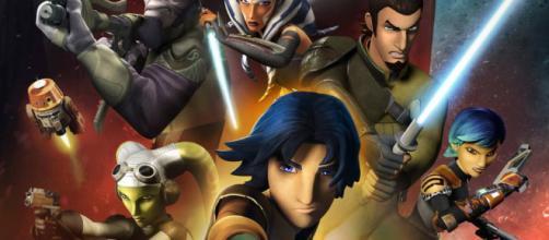 La serie animanada Star Wars Rebels está cada día mejor.