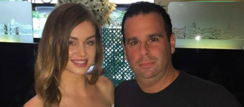 Lala Kent has dinner with Randall Emmett. [Photo via Facebook]