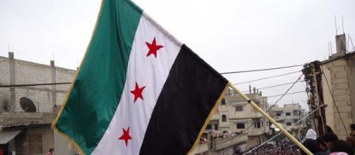 Syrian Flag, Freedom House via Flickr