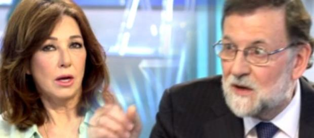 Ana Rosa Quintana y Rajoy en imagen