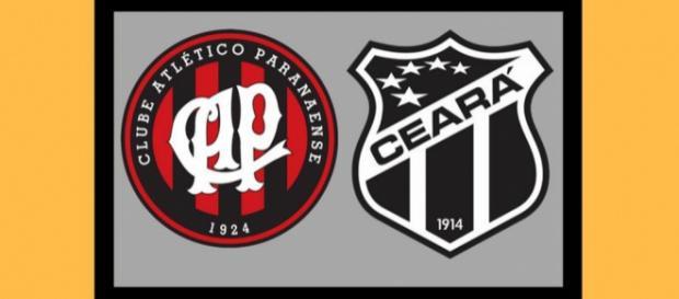 Atlético-PR x Ceará ao vivo nesta quarta. (foto reprodução).