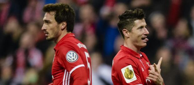 Die beiden Leistungsträger stritten sich im Training (Quelle: kicker.de)