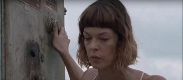 Jadis. - [Image via The Walking Dead Updates HD / YouTube screencap]