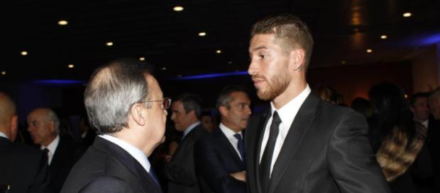 Sergio Ramos avisa a Florentino Pérez: 'Negocia con Simeone'