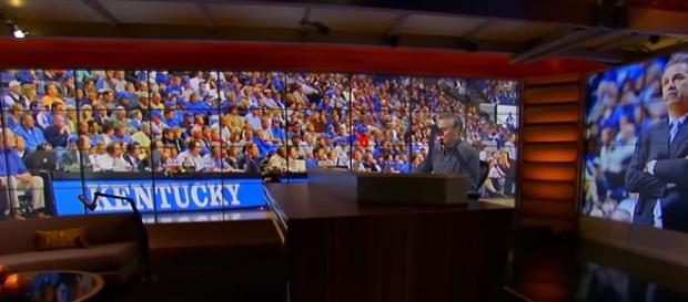Kentucky Wildcats Interview. - [The Herd with Colin Cowherd / YouTube screencap]