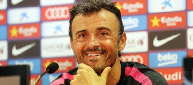 Luis Enrique Martínez García, conocido como Luis Enrique, exfutbolista y entrenador español