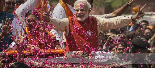 Massive mandate for Narendra Modi - read full story click here ... - (Image via Ranganath/pinterest.com)