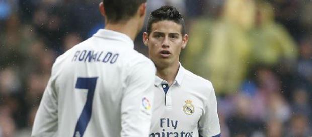Real Madrid: James Rodriguez brushes off Cristiano Ronaldo's ... - marca.com