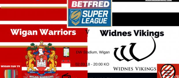 Wigan Warriors v Widnes Vikings Super League