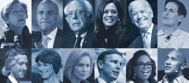 Democrats who could run against Donald Trump in 2020