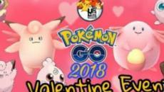 The 2018 Pokemon Go Valentine's Day event looks promising
