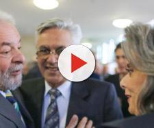 Ex-presidente Lula e presidente do STF, Cármen Lúcia, não andam às favas
