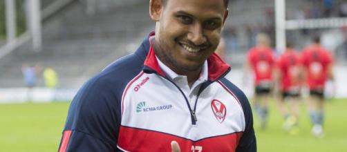 Ben Barba was in inspired form on Friday night as Saints hammered Castleford. Image Source: thesun.co.uk
