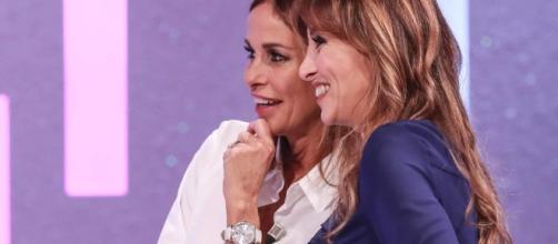 Cristina e Benedetta Parodi a Domenica In