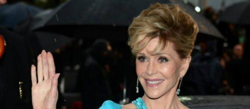 Jane Fonda reveals battle with skin cancer.[Image Credit: Wikimedia Commons]