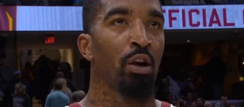 J.R. Smith has two years left in his contract with the Cavaliers. - [Image Credit: MLG Highlights / YouTube screencap]