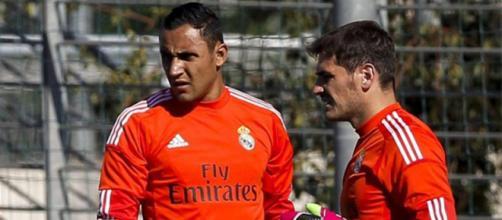 Keylor Navas habló de su relación con Iker Casillas en el Real ... - elbocon.pe