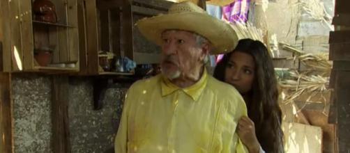 Lúcia manda Eusébio matar Ramiro e faz Maricruz ser presa em Coração Indomável (Foto: Televisa)
