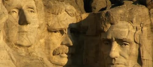 Mount Rushmore. - [Smithsonian Channel / YouTube screencap]