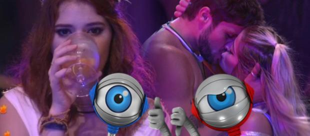 Ana Clara não se conforma em ver Breno e Jaqueline juntos