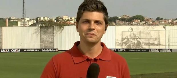 Flávio Ortega, repórter da ESPN Brasil
