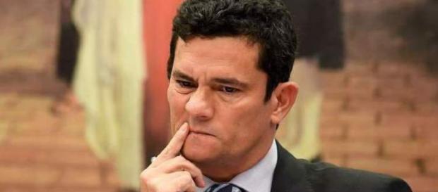 Juiz federal Sérgio Moro em uma audiência