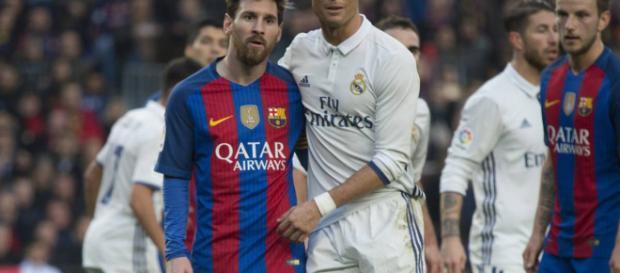 Real Madrid y Barcelona en plena guerra