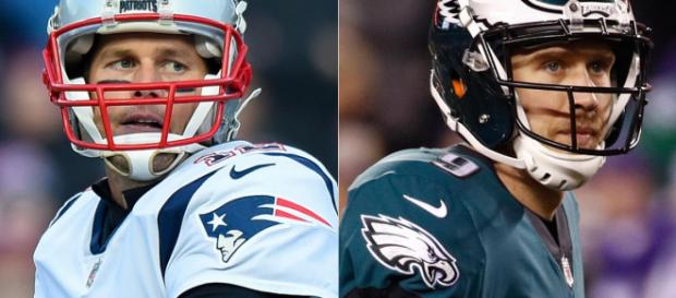 Which QB will be victorious? [Image via Boston Herald/YouTube]