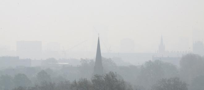 Air pollution remains a major health concern in England