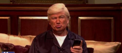 """Alec Baldwin on """"SNL,"""" via Twitter"""