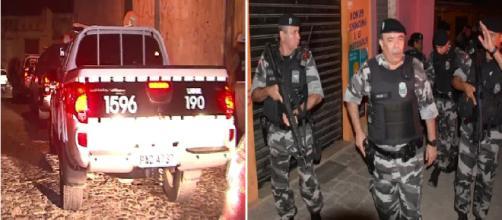 Bandidos morrem em troca de tiros com a polícia no bairro de Nazaré
