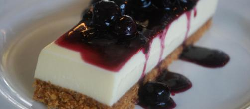 Goat's Curd Cheese Cake by Alpha via Flickr.com