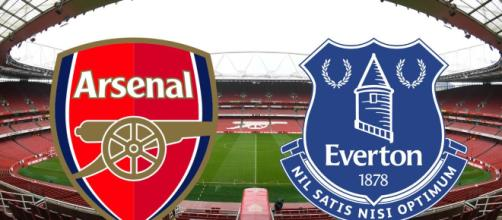 Gran juego, Arsenal vs Everton