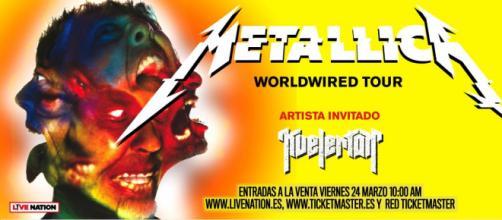 Metallica vuelve a España y lo hace a lo grande