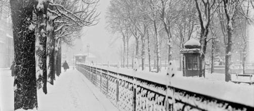 Paris sous la neige en 100 photos vintage incroyables - salutparis.fr