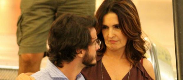 Apresentadora conta detalhes do seu namoro. (Foto Reprodução).