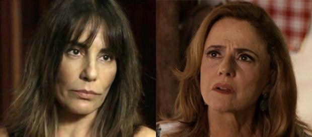 Duda enfrenta Sophia e lhe faz grave ameaça em O Outro Lado do Paraíso (Foto: TV Globo)