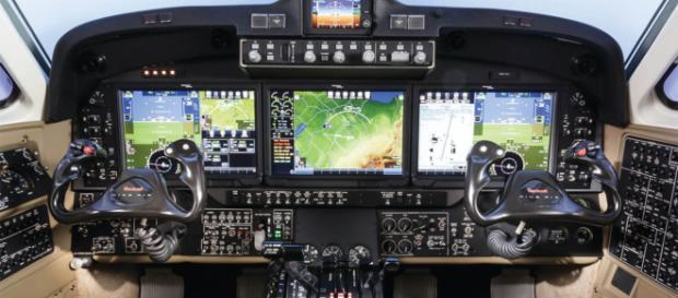 El Sistema integrado de visualización en cabina.