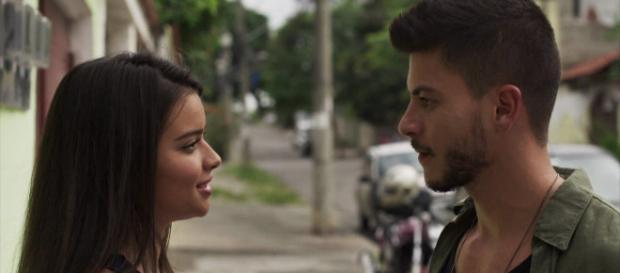 Melissa se divorcia de Diego por ele ter disfunção erétil em O Outro Lado do Paraíso (Foto: TV Globo)
