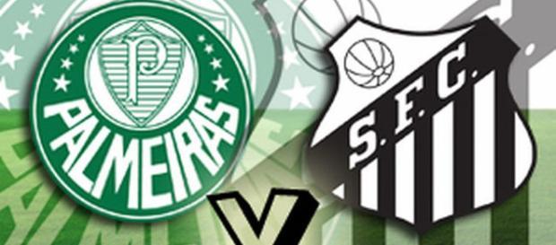 Palmeiras e Santos duelam pela 5ª rodada no Paulista
