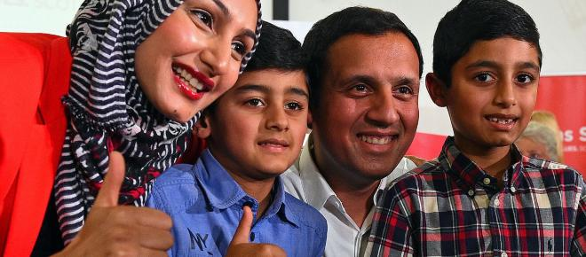 Anas Sarwar, Labour MSP, highlights the issue of institutional racism