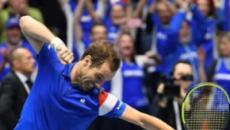 Coupe Davis: La France se défait logiquement des Pays-Bas