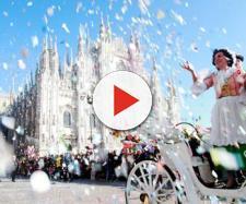 Sfilata di carri di Carnevale a Milano