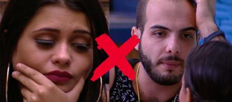 Ana Paula reclama de Mahmoud para Patrícia. (Reprodução/TVGlobo)