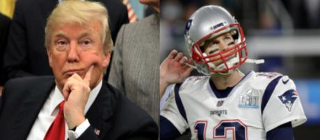 Donald Trump, Tom Brady, via Twitter