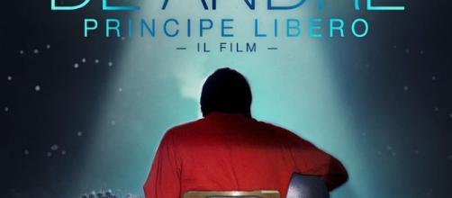 """Poster del film """"Fabrizio De Andrè Principe Libero"""""""