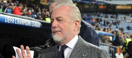 De Laurentiis contestato da alcuni tifosi del Napoli - ilnapolista.it