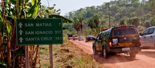 Traficante é morto em confronto com a polícia na fronteira de MT com a Bolívia